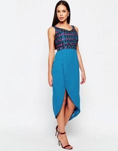 Платье Virgos Lounge Diane - Синий