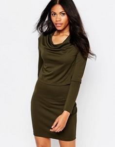 Двухслойное платье Daisy Street - Зеленый