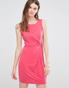 Платье с асимметричной сборкой Lavand - Розовый