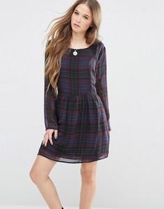 Платье в клетку Pepe Jeans - Мульти