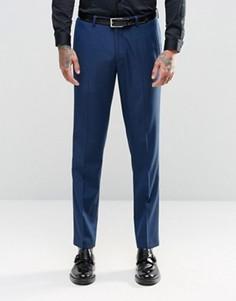 Темно-синие узкие брюки ASOS - Темно-синий