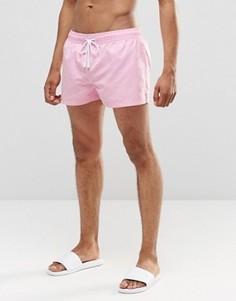 Комбинируемые короткие шорты Ringspun - Розовый