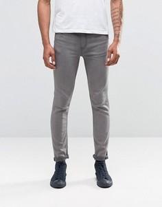 Серые выбеленные джинсы скинни Cheap Monday - Серый