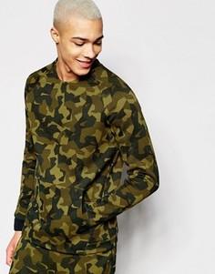 Трикотажный зеленый свитшот Nike 823501-347 - Зеленый
