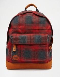 Красный рюкзак в клетку Mi-Pac - Красный