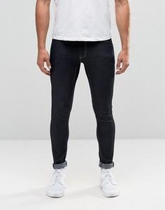 Зауженные джинсы цвета индиго с покрытием Antioch - Синий