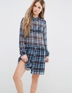 Платье в клетку Pepe Jeans Claire - Мульти
