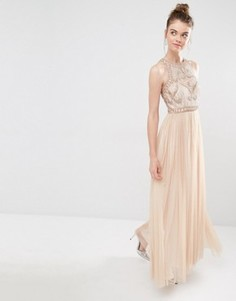 Платье макси Frock and Frill - Розовый