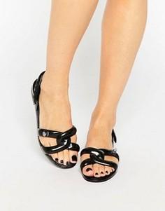 Черные сандалии Melissa + Jeremy Scott - Черный