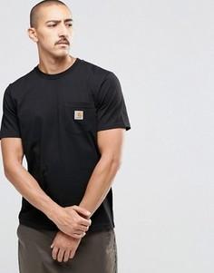 Футболка с карманом Carhartt WIP - Черный