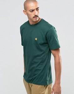 Футболка Carhartt WIP Chase - Зеленый