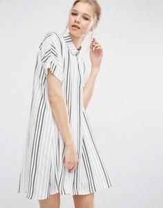Платье-рубашка Y.A.S Evan - Белый