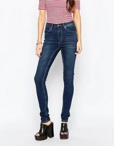 Темно-серые рваные джинсы Cheap Monday Second Skin - Серый