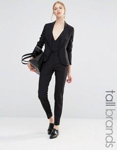 Укороченные брюки Vero Moda Tall - Черный
