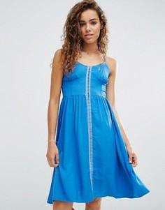 Платье с крючками d.RA - Синий