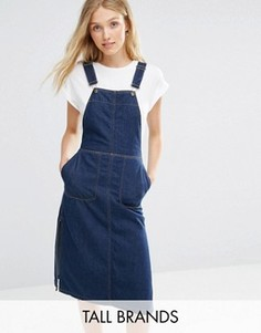Джинсовое платье-комбинезон Vero Moda Tall - Синий