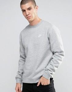 Серый свитшот Nike 804340-063 - Серый