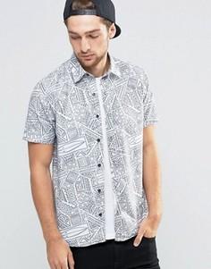 Рубашка с короткими рукавами Mambo - Черный