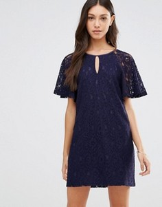Кружевное платье Traffic People - Темно-синий