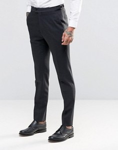 Фланелевые брюки зауженного кроя Hart Hollywood by Nick Hart - Серый