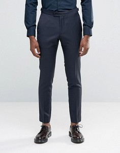 Фактурные зауженные брюки Hart Hollywood by Nick Hart - Темно-синий