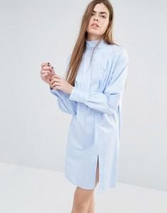Платье-рубашка Baum Und Pferdgarten Adjazia - Синий