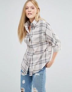 Рубашка в клетку Daisy Street - Бежевый