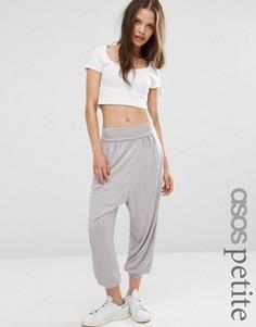 Гаремные брюки ASOS PETITE - Серый