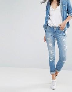 Прямые джинсы в винтажном стиле Lee Emlyn - Синий