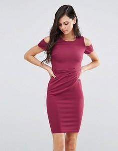 Платье-футляр миди Jessica Wright Avery - Розовый