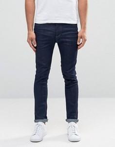 Темно-синие джинсы скинни Selected Homme - Синий