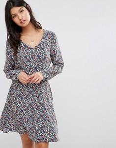 Платье с цветочным принтом Pepe Jeans Lucia - Мульти