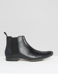 Кожаные ботинки челси Frank Wright - Черный
