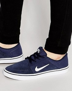 Кроссовки Nike SB Portmore 725027-413 - Синий