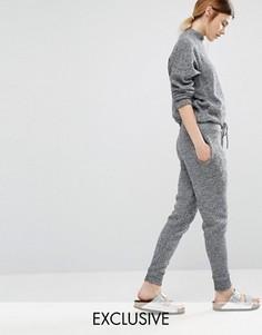 Трикотажные джоггеры Stitch & Pieces - Серый