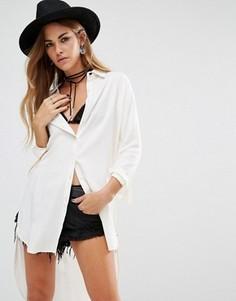 Длинная рубашка Lira - Белый