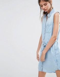 Джинсовое платье‑рубашка Dittos Olivia - Синий Dittos