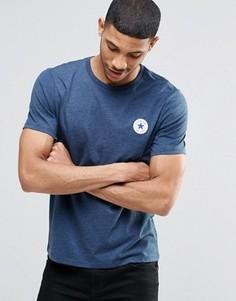 Синяя футболка с логотипом Converse Chuck 10002849-A02 - Синий