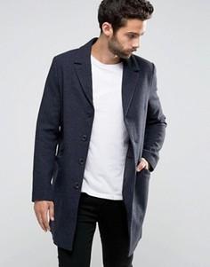 Пальто строгого кроя Only & Sons - Серый