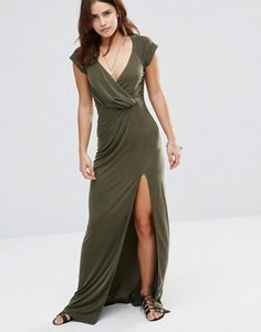 Платье макси The Jetset Diaries - Зеленый