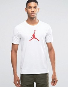 Белая футболка Nike Jordan Jumpan 801051-100 - Белый