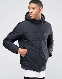 Черная куртка с капюшоном Nike 810856-010 - Черный