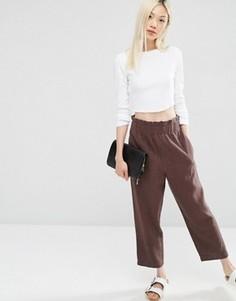 Юбка-брюки ASOS - Коричневый