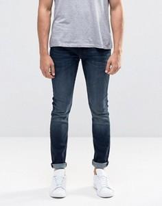 Супероблегающие джинсы Lee Malone - Синий
