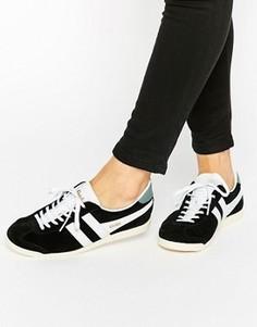 Классические черно-белые кроссовки Gola - Черный