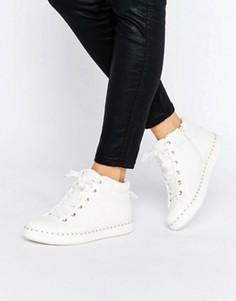 Белые высокие кроссовки ALDO Drina - Белый