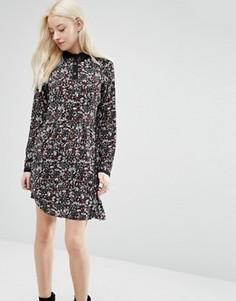 Платье с цветочным принтом Brave Soul - Мульти