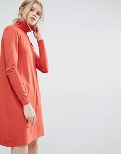 Платье-водолазка Vila - Красный
