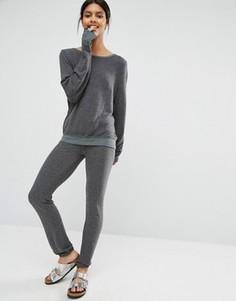 Серые джоггеры Wildfox Malibu - Серый