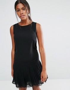 Платье Y.A.S Pleady - Черный